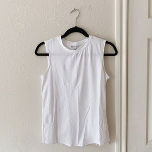 Athleta White Sunlover Tank XXS